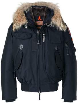 Parajumpers fur trim down jacket