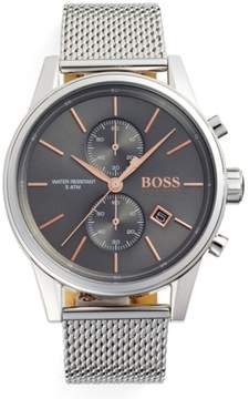 BOSS Men's Jet Chronograph Mesh Strap Watch, 41Mm