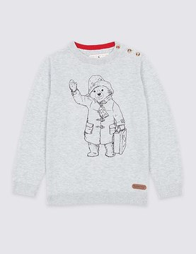 Marks and Spencer PaddingtonTM Cotton Blend Jumper (3 Months - 6 Years)