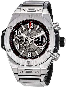 Hublot Big Bang Unico Mat Black Skeleton Dial Chronograph Men's Watch