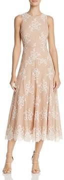 Betsey Johnson Tea-Length Lace Dress