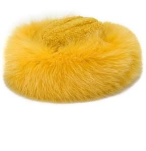 Borsalino fur trim hat