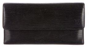 Louis Vuitton Epi Porte-Trésor International Wallet - BLACK - STYLE