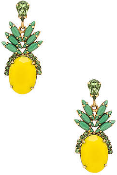 Elizabeth Cole Pineapple Studs