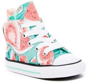 Converse Chuck Taylor All Star Simple Step Watermelon Hi Sneaker (Baby & Toddler)