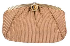 Judith Leiber Woven Frame Evening Bag