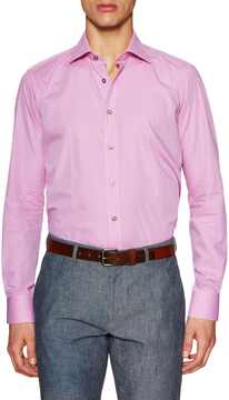 Ike Behar Men's Checkered Sportshirt