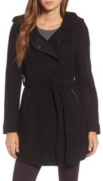 Andrew Marc Women's Felted Wool Blend Coat