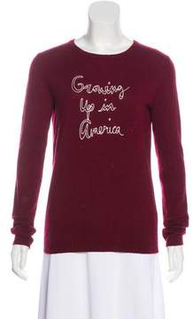 Bella Freud Embroidered Knit Sweater