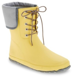 dav Women's Lace-Up Mid Weatherproof Boot
