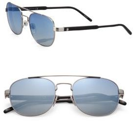 Montblanc 55MM Aviator Sunglasses