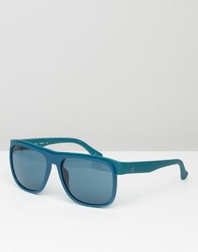 Calvin Klein CK Platinum Sunglasses Midnight Blue