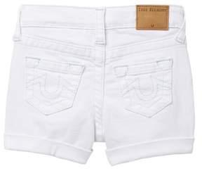 True Religion Audrey Boyfriend Shorts (Toddler & Little Girls)