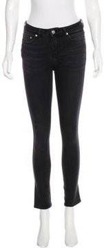 BLK DNM Mid-Rise Skinny Jeans
