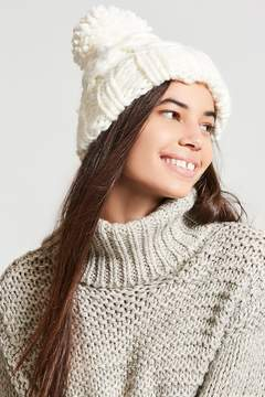 Forever 21 Chunky Cable-Knit Beanie