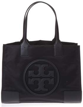 Tory Burch Black Bag In Nylon With Logo - BLACK - STYLE