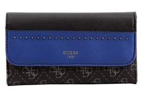 GUESS Women's Hailey Slim Clutch Tri-Fold Wallet