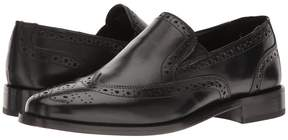 Nunn Bush Norris Wing Tip Double Gore Dress Casual Slip-On Men's Slip-on Dress Shoes