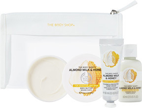 The Body Shop Almond Milk And Honey Beauty Bag