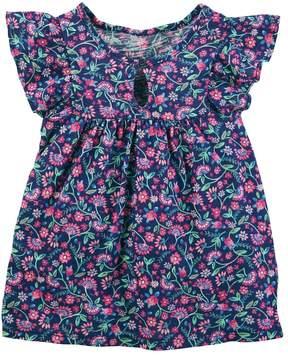 Osh Kosh Toddler Girl Floral Flutter Tee