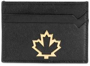 DSQUARED2 logo plaque cardholder