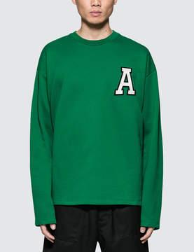 Ami Crewneck Sweatshirt With Patch