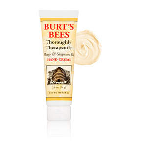 Burt's Bees Thoroughly Therapeutic Honey and Grapeseed Oil Hand Creme