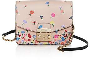 Furla Metropolis Floral Print Small Leather Bag - 100% Exclusive