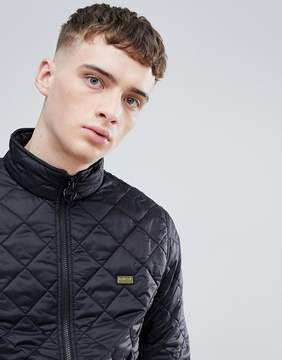 Barbour International Gear Quilted Jacket in Black