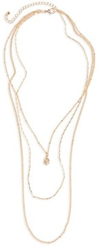 BP Women's Layered Charm Necklace