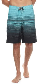 Ocean Current Men's Striped Tech Cargo Board Shorts