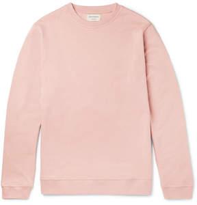 Oliver Spencer Loungewear Fleece-Back Cotton-Jersey Sweatshirt