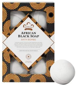 Nubian Heritage African Black Soap Bath Bombs - 6ct