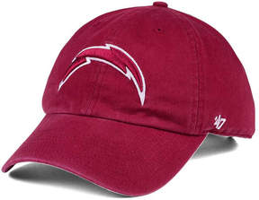 '47 Los Angeles Chargers Cardinal Clean Up Cap