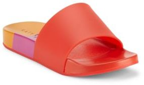 Katy Perry Fifi Colorblock Slide Sandals