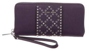MICHAEL Michael Kors Studded Leather Wallet