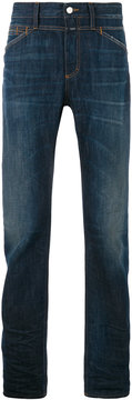 Closed four pockets tapered jeans