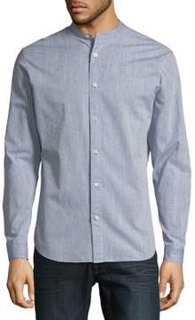Selected Textured Slim-Fit Button-Down Shirt