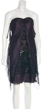 Christian Lacroix Silk Embellished Dress