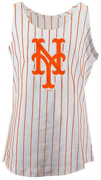 5th & Ocean New York Mets Pinstripe Tank, Girls (4-16)