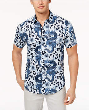 INC International Concepts I.n.c. Men's Dragon Shirt, Created for Macy's