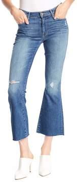 Mother The Weekender Ankle Frayed Hem Straight Leg Jeans