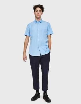 Comme des Garcons Narrow Classic Plain Double Button SS Shirt