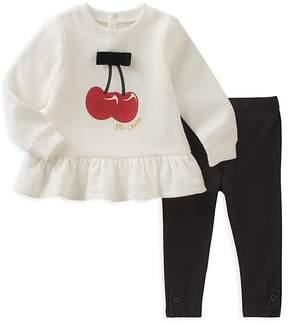 Kate Spade Girls' Cherry Sweatshirt & Leggings Set - Baby