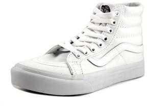 Vans Sk8-Hi Slim Women US 6 White Skate Shoe