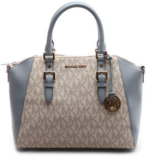 Michael Kors Vanilla & Pale Blue Ciara Crossbody Bag - VANILLA - STYLE