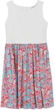 Speechless Girls 7-16 Lace & Chiffon Paisley Print Dress