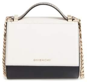Givenchy Pandora Box Genuine Snakeskin Crossbody Bag