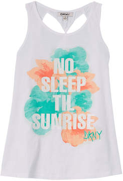 DKNY Girls' Up All Night Tank