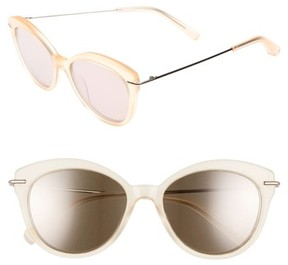 Elizabeth and James Women's Wright 53Mm Cat Eye Sunglasses - Lemon